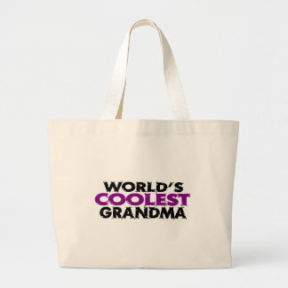Worlds Coolest Grandma Jumbo Tote Bag