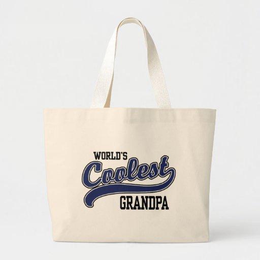 World's Coolest Grandpa Jumbo Tote Bag