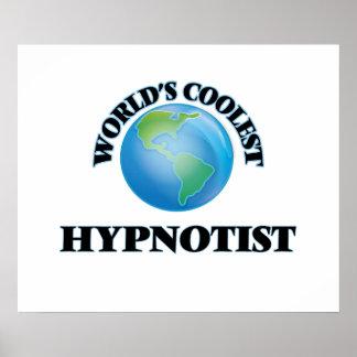 World's coolest Hypnotist Poster