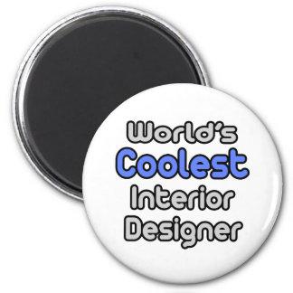 World's Coolest Interior Designer Fridge Magnet