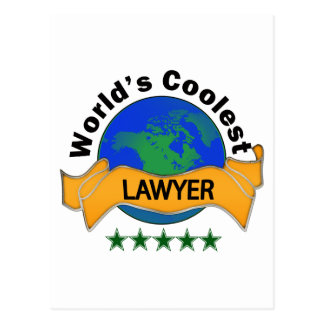 World's Coolest Lawyer Post Cards