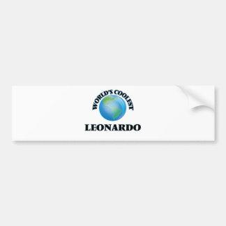 World's Coolest Leonardo Bumper Stickers