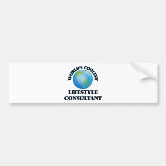 World's coolest Lifestyle Consultant Bumper Stickers