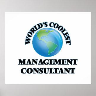 World's coolest Management Consultant Print
