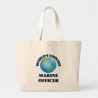 World's coolest Marine Officer Tote Bag