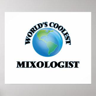 World's coolest Mixologist Print