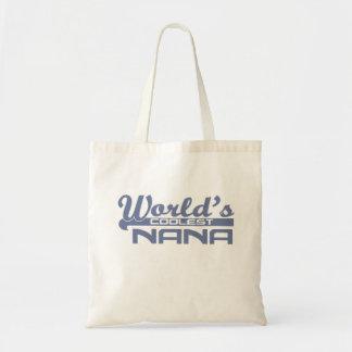 World's Coolest Nana Budget Tote Bag