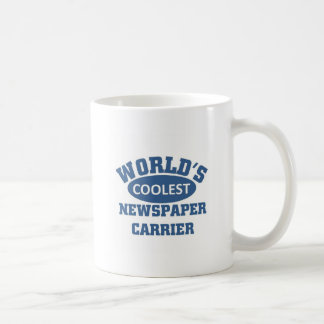 World's Coolest Newspaper Carrier Coffee Mug