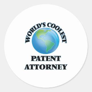 World's coolest Patent Attorney Sticker