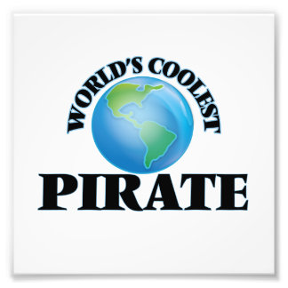 World's coolest Pirate Photographic Print