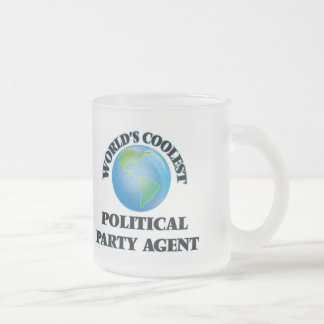 World's coolest Political Party Agent Mugs