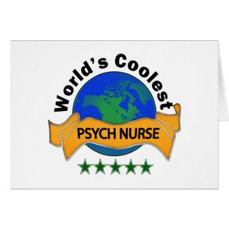World's Coolest Psych Nurse Card