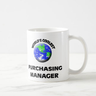 World's Coolest Purchasing Manager Mugs