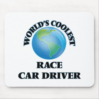 World's coolest Race Car Driver Mouse Pad