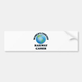 World's coolest Railway Gasser Bumper Sticker