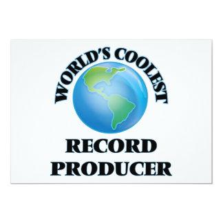 World's coolest Record Producer Personalized Invite