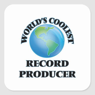 World's coolest Record Producer Stickers