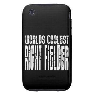 Worlds Coolest Right Fielder iPhone 3 Tough Case