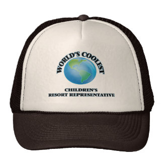 World's coolest s Resort Representative Cap