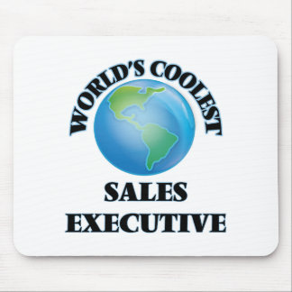 World's coolest Sales Executive Mouse Pad