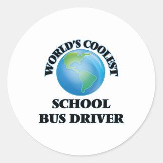 World's coolest School Bus Driver Sticker