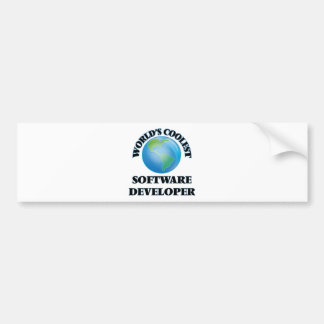 World's coolest Software Developer Bumper Stickers