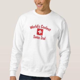 World's Coolest Swiss Dad Sweatshirt