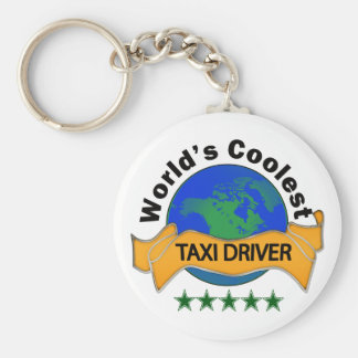 World's Coolest Taxi Driver Keychains