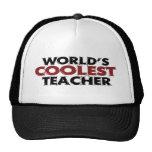 Worlds Coolest Teacher Trucker Hat