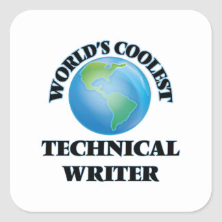 World's coolest Technical Writer Stickers