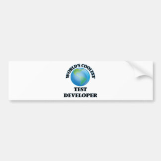 World's coolest Test Developer Bumper Sticker