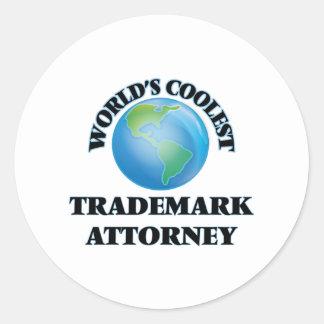 World's coolest Trademark Attorney Stickers