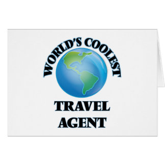 World's coolest Travel Agent Cards
