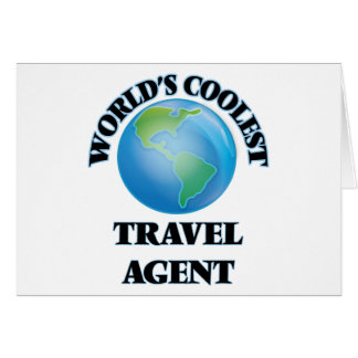 World's coolest Travel Agent Card