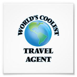 World's coolest Travel Agent Photographic Print
