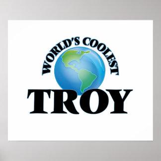 World's Coolest Troy Print