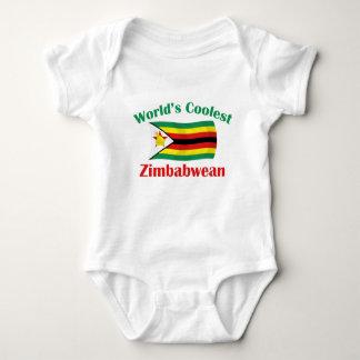 World's Coolest Zimbabwean Baby Bodysuit