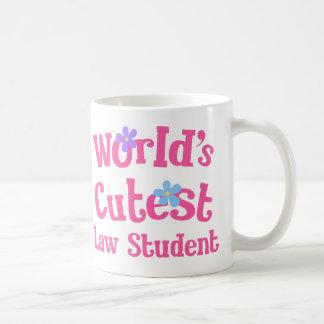 Worlds Cutest Law Student Coffee Mug