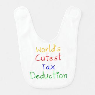 World's Cutest Tax Deduction Bib