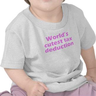 World's Cutest Tax Deduction T-shirts