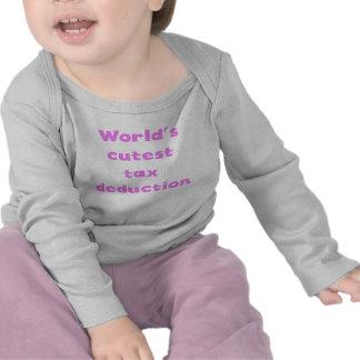 World's Cutest Tax Deduction Tshirt