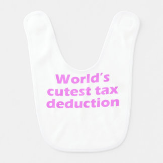 World's Cutest Tax Deduction Bibs