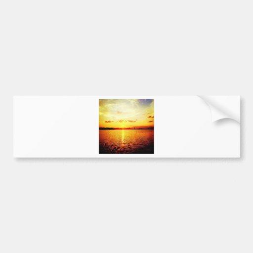 World's Fair Marina Sunset Bumper Stickers