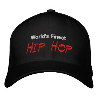 Worlds Finest Hip Hop Embroidered Cap