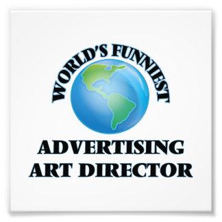 World's Funniest Advertising Art Director Photographic Print