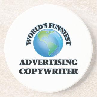 World's Funniest Advertising Copywriter Coasters