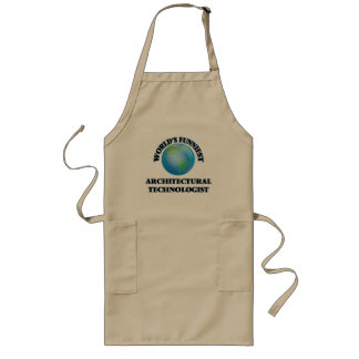 World's Funniest Architectural Technologist Long Apron