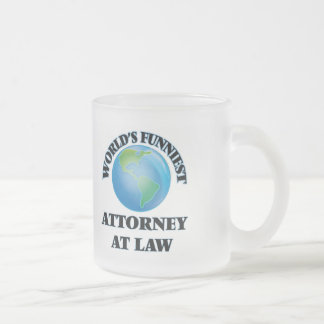 World's Funniest Attorney At Law Mugs