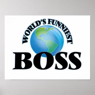 World's Funniest Boss Poster