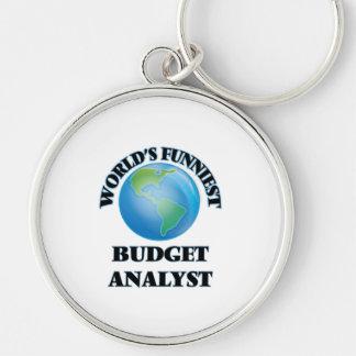 World's Funniest Budget Analyst Key Chain